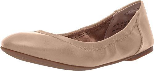 Amazon Essentials Womens Ballet Flat, Nude, 7.5 B US