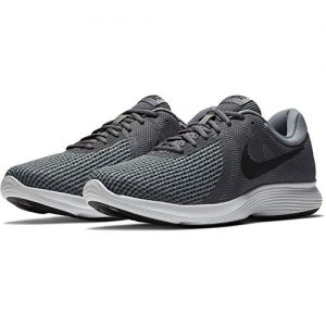 Nike Mens Revolution 4 Running Shoe, Dark Grey/Black-Cool Grey/White, 10.5 Regular US
